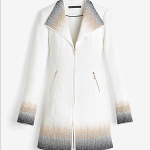 WHBM Embroidered Ombré jacket - Like New! Size M